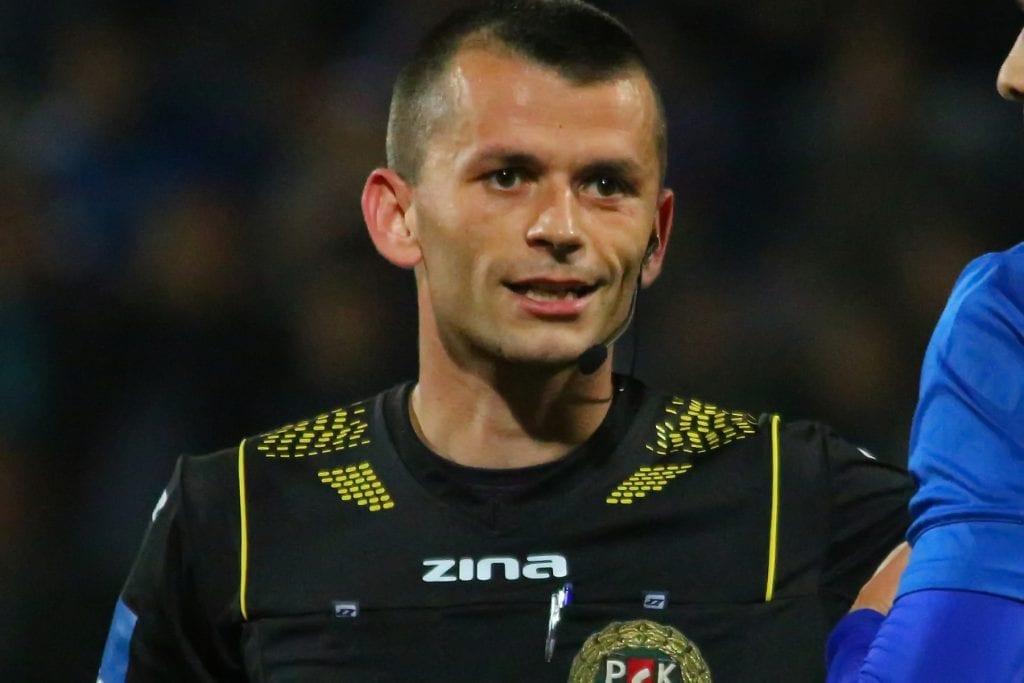Łukasz Szczech - arbitrem w meczu 15.02.2020
