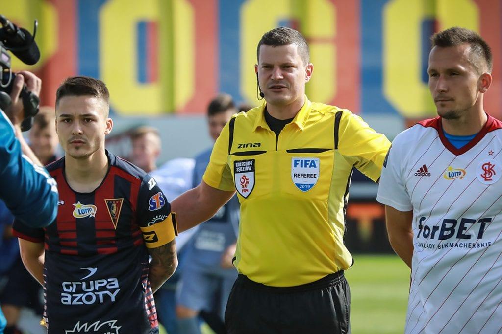 Tomasz Musiał arbitrem meczu z Górnikiem