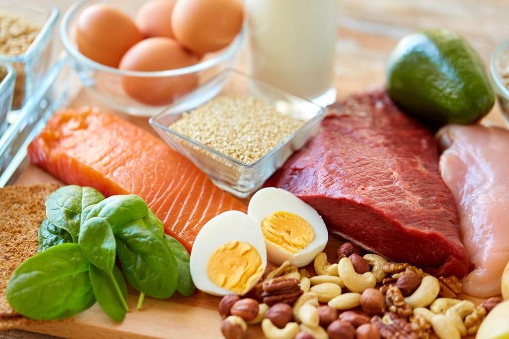 Białka w diecie sportowca.