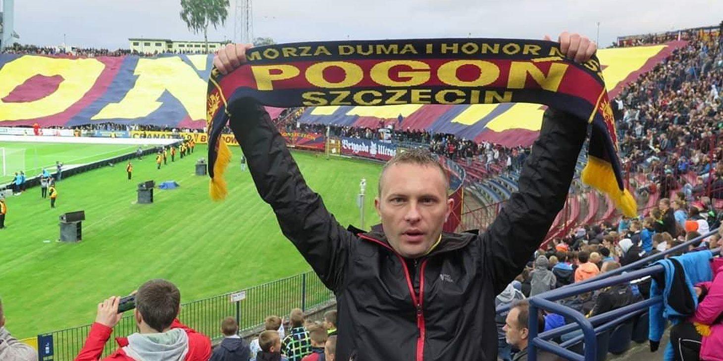 Jarosław Mielnicki - miłość do Pogoni przekazywana w genach