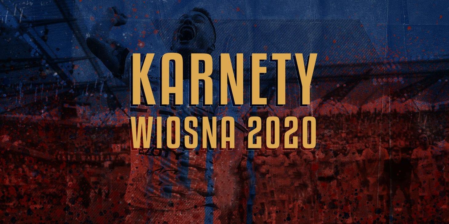 """Rozliczenie karnetów """"Wiosna 2020"""""""