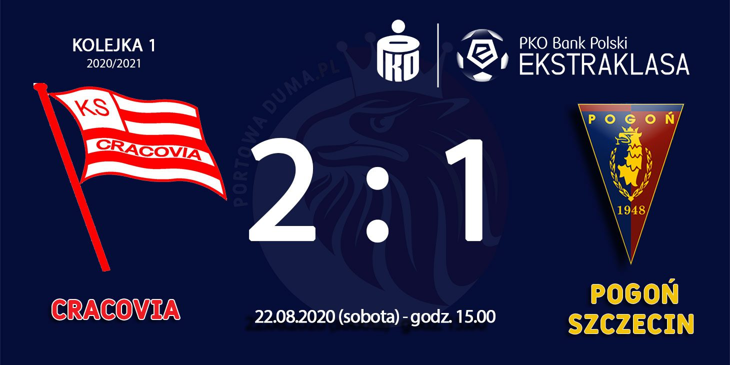 Cracovia - Pogoń 2:1