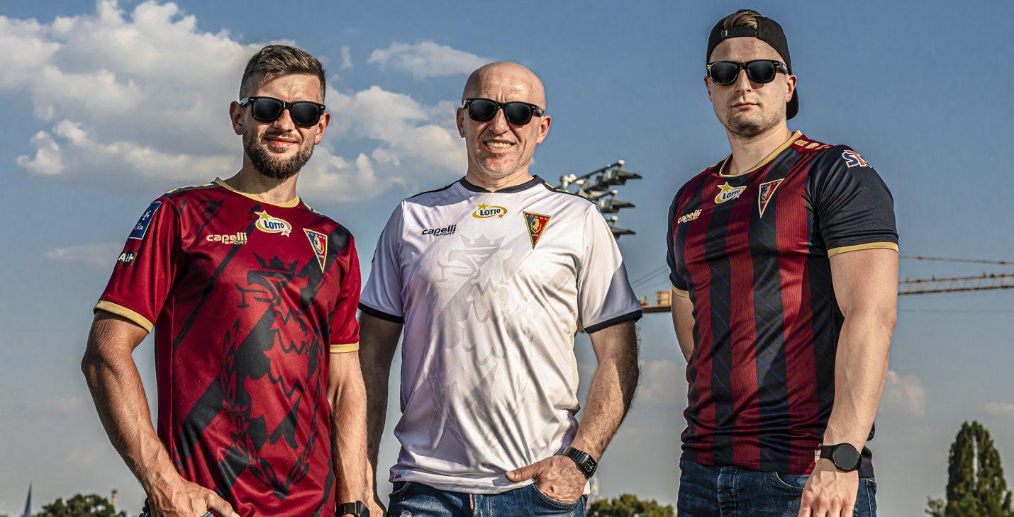 Portowe Gryfy - nowe koszulki drugiego i trzeciego wyboru