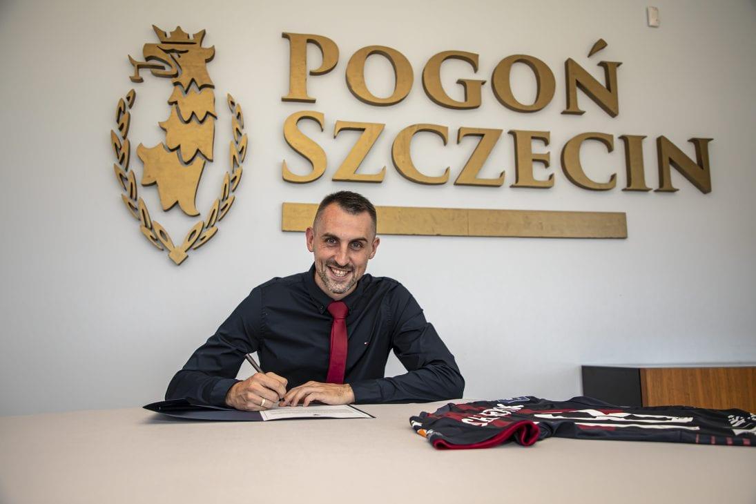 Michał Kucharczyk zawodnikiem Pogoni Szczecin
