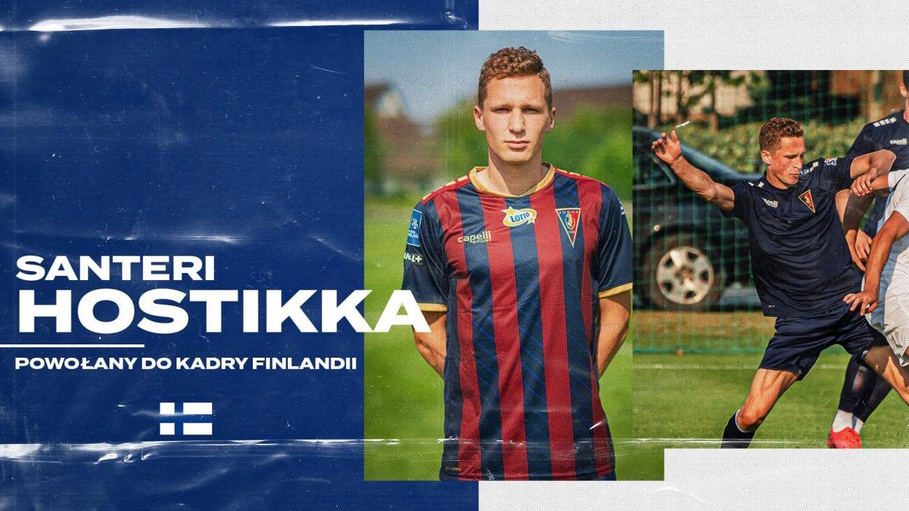 Santeri Hostikka na ławce w meczu Finlandia - Walia