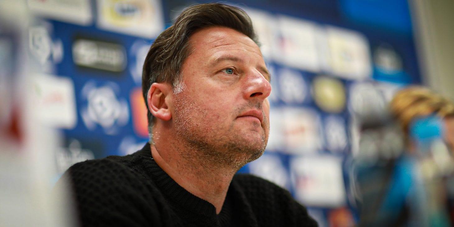 """Kosta Runjaic: """"Chcemy, aby pierwszy mecz w domu zakończył się naszym zwycięstwem"""""""