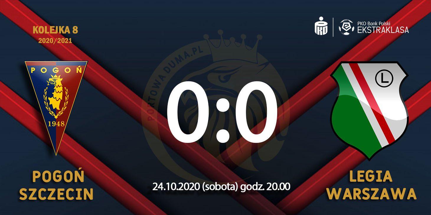 [RELACJA Z MECZU] Pogoń Szczecin - Legia Warszawa.
