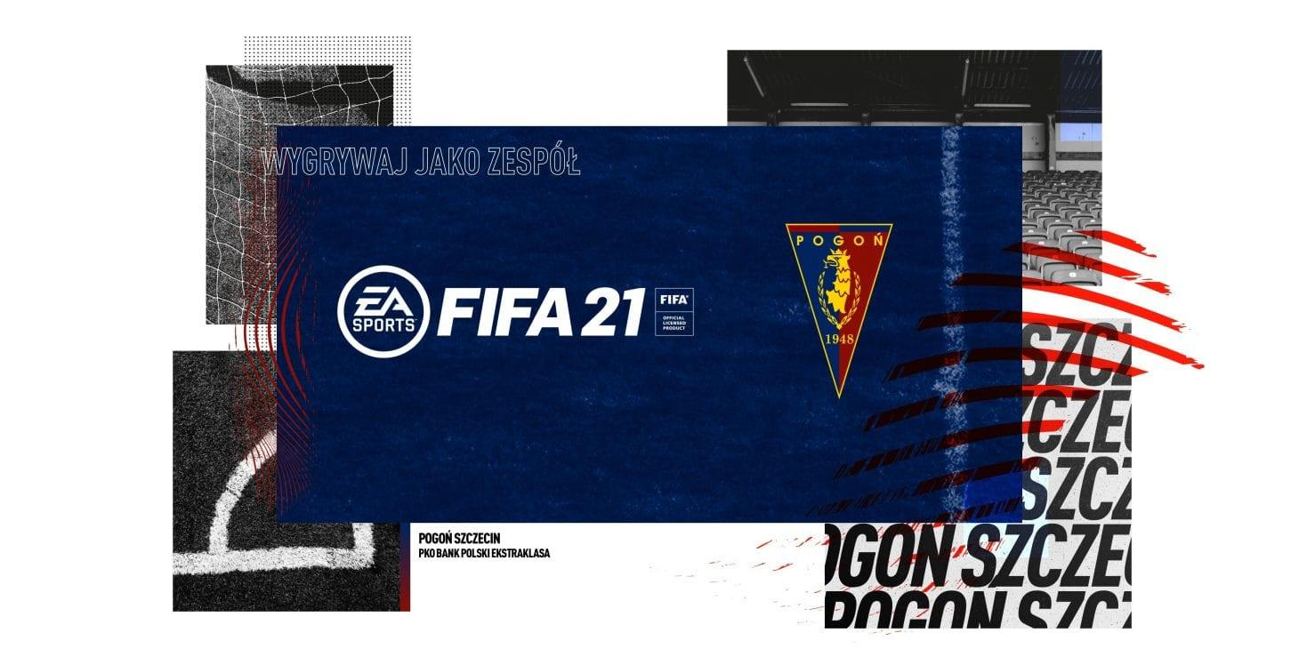 FIFA 21. Grafiki do pobrania z motywem Pogoni